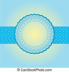 blank wedding card