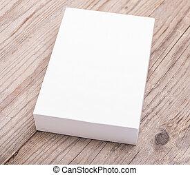 Blank white box.
