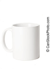 blank white cup