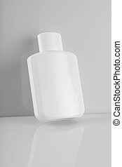 Blank White Perfume / Cream Bottle for Mockups - Blank White...