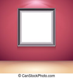 Blank White Poster Template