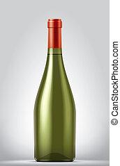 Blank Wine bottle