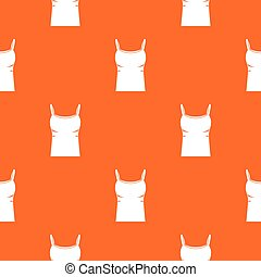 Blank women tank top pattern seamless