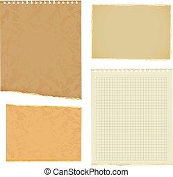 Blank worksheet exercise book