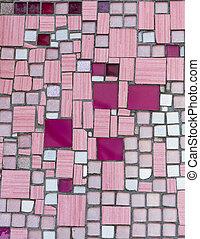 blanke, mosaic., abstrakt, seamless, baggrund.