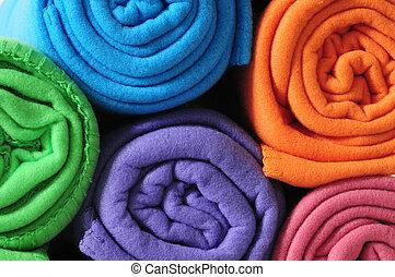 Blanket roll.