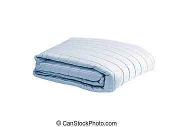 Blanket isolated on white background