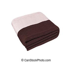blanket isolated on white