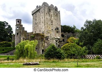 Blarney Castle in Blarney, Ireland - Blarney Castle, a...