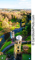 Blarney Castle in Ireland in autumn - Autumn in Ireland....