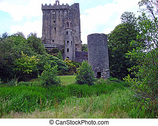 Blarney Castle in Ireland, home of the famous Blarney Stone.
