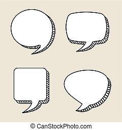 blasen, talk