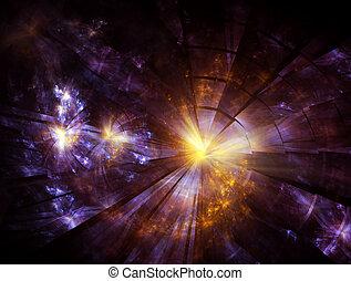 blast - Explosion, broken glass, burst of light