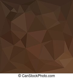 Low polygon style illustration of a blast off bronze abstract geometric background.