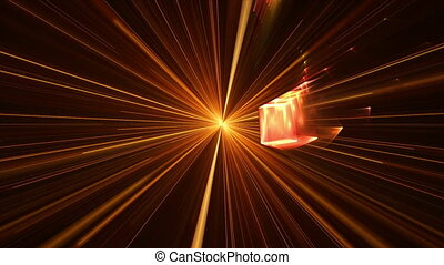 Blast With Rays Of Light, Explosion