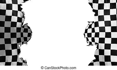 Blasted Checkered flag