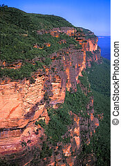blaue berge, australia, -