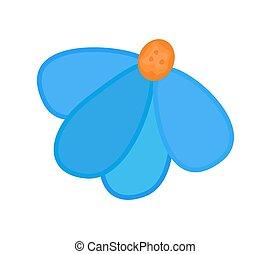 blaue blume, design