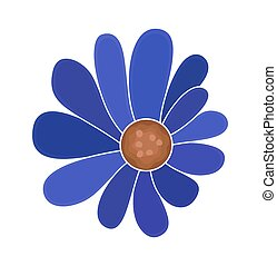 blaue blume, entwerfen element