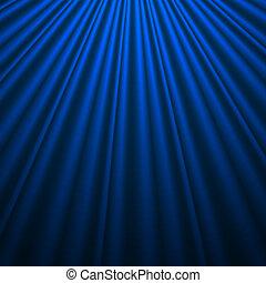 blaue seide, hintergrund