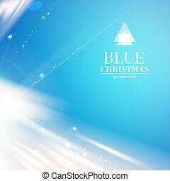 blauer himmel, licht, aus, hintergrund., abstrakt