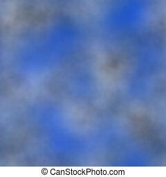 blauer himmel, und, wolkenhimmel, beschaffenheit