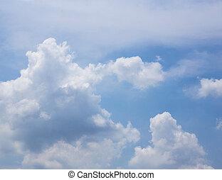 blauer himmel, wolkenhimmel, hintergrund