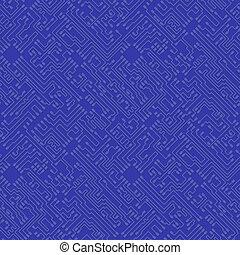 blauer hintergrund, abstrakt, bo, -, hoch, vektor, ...