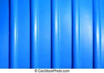 blauer hintergrund, plastik