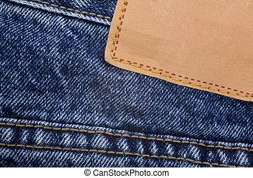 blauer jean