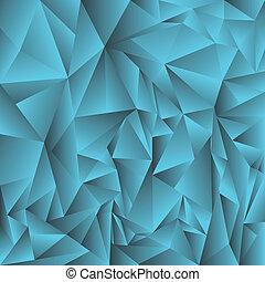 blauer kristall, hintergrund
