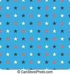 blauer stern, blaues, soild, licht, farben, seamles, hintergrundmuster, weiß rot