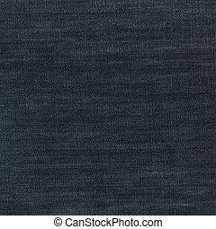 blauer stoff, höhlen jeans, leinen, hintergrund, textured,...