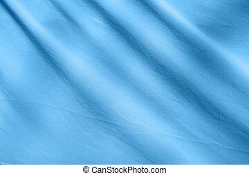 blauer stoff, hintergrund, beschaffenheit