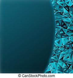 blaues, abstrakt, eps, space., dunkel, 8, kopie, zusammensetzung