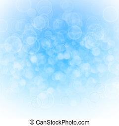 blaues, abstrakt, licht, hintergrund