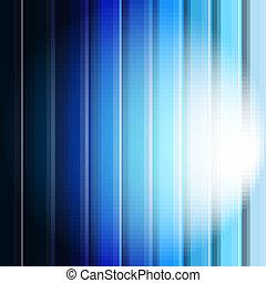 blaues, abstrakt, linie, hintergrund