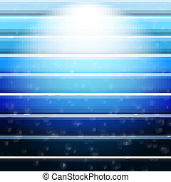 blaues, abstrakt, linien, hintergrund