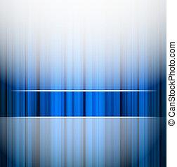 blaues, abstrakt, streifen, hintergrund