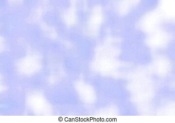 blaues, Abstrakt, weich, weißes, hintergrund