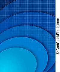 blaues, abstrakt, zusammensetzung