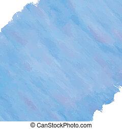 blaues, aquarelle, diagonal