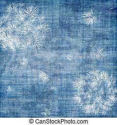 blaues, aus, löwenzahn