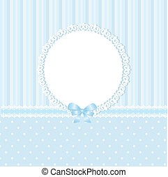 blaues, baby, hintergrund