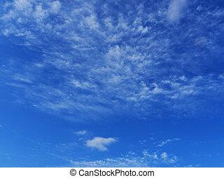 blaues, beatuful, himmelsgewölbe