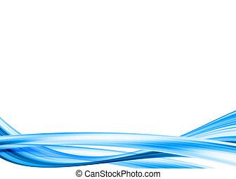 blaues, bewegung, hintergrund