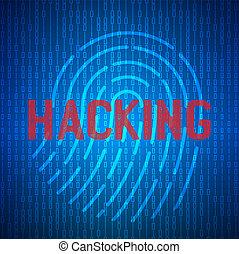 blaues, binärcode, edv, matrix, bach, kodierung, abstrakt, programmierung, screen., begriff, kodierung, hacker., code.