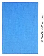 blaues buch, seiten, freigestellt, auf, a, weißes, mit, ausschnitt weg