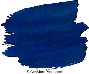 blaues, fleck, freigestellt