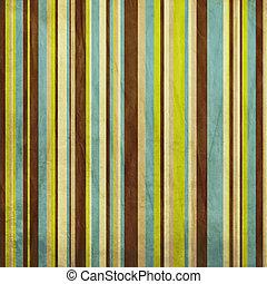 blaues, gefärbt, brauner, weinlese, grüner hintergrund,...